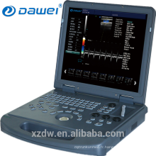 Scanner ultrasonique professionnel d'ultrason d'ordinateur de Doppler de la couleur 2D / échographie d'ordinateur portable